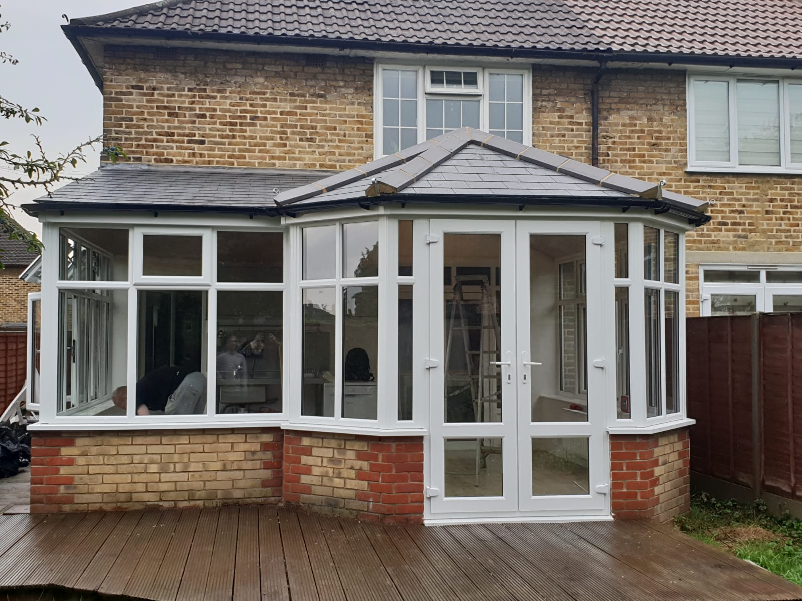 new conservatory in E4