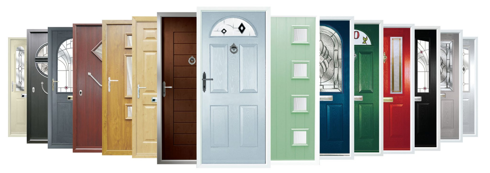 selection of doors
